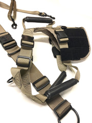 velcro and molle dog gear