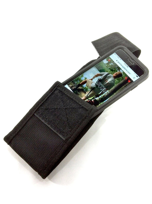 gearpouchx is our large cell phone holder for your geartac hands free dog walking device