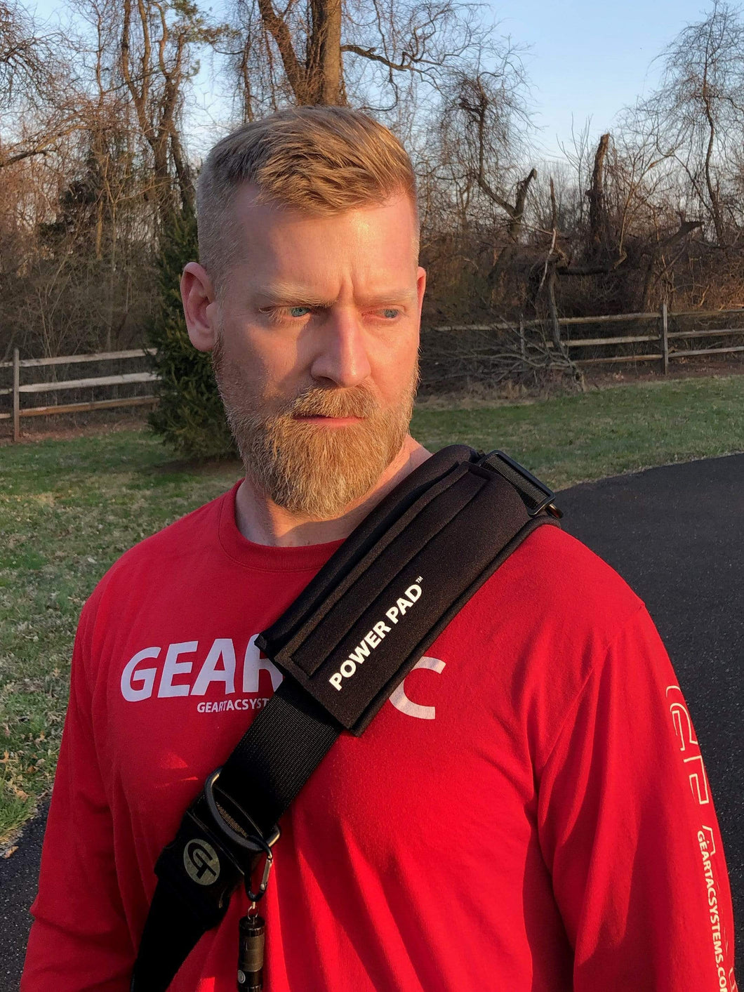 The Geartac Systems Power Pad adds even more comfort to the hands free dog leash