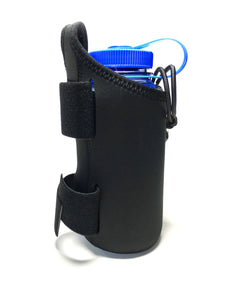 geartrek pouch water bottle holder for the geartac k9 hands free dog walking device is good for hiking, camping, fitness and anything else a water bottle holder is needed for, plus it can be used for any dog gear storage