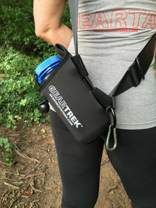 geartrek hands free dog walking device water bottle holder and sports system for hiking, camping and any situation a water bottle or any other dog accessories are needed