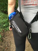 Load image into Gallery viewer, geartrek pouch water bottle holder for the geartac k9 hands free dog walking device is good for hiking, camping, fitness and anything else a water bottle holder is needed for, plus it can be used for any dog gear storage