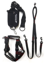 Load image into Gallery viewer, geartac walking packages, a combination of all three devices, hands free dog walking system, training leash, and no pull harness needed to change your life while walking your dog
