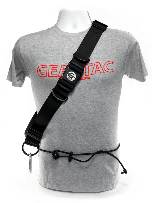 hands free running belt system