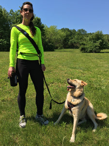 the geartac running belt is a specialized way to enjoy running hands free holds your dog leash better then any other