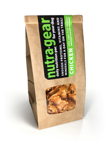 Nutra Gear day bag chicken one ingredient dog treat for high reward