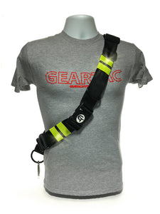 Geartac Systems TAGH1 hands free dog gear with reflective tape for night safety