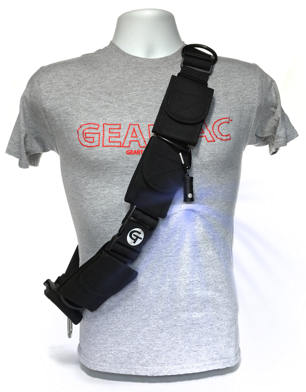 Geartac Systems TAGH1 hands free dog gear for night safety