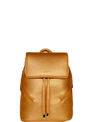 Vegan, Metallic Gold, Bronze, Women's vegan mini bag, women's vegan mini backpack, women's sports bag company, women's designer sports bags, sports backpack, tiny bag, thermal bag, thermal backpack