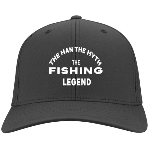 d5259c995a0 The Man The Myth the Fishing Legend twill cap w