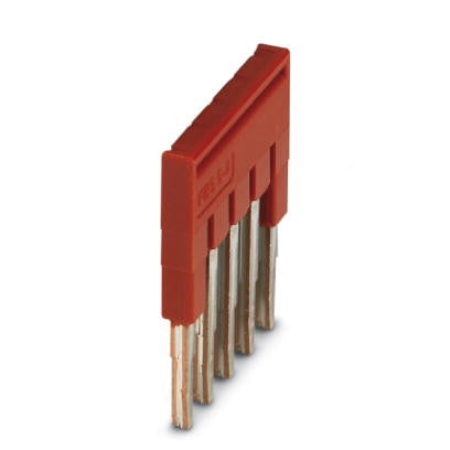4.2mm Plug-in Bridge 5 pos Red