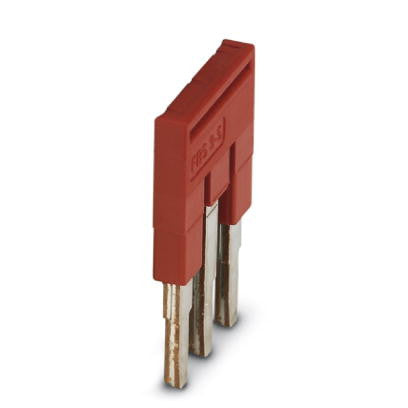 5.2mm Plug-in Bridge 3 pos Red