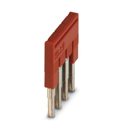 5.2mm Plug-in Bridge 4 pos Red