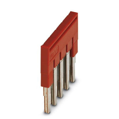 5.2mm Plug-in Bridge 5 pos Red
