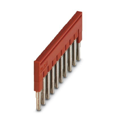 5.2mm Plug-in Bridge 10 pos Red
