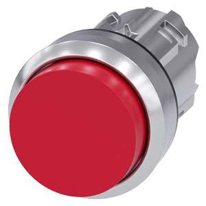 PUSHBUTTON, MOM, RED, RAISED