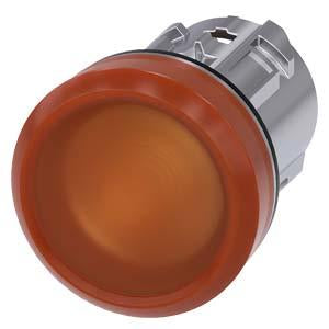 INDICATOR LIGHT, AMBER, SMOOTH LENS