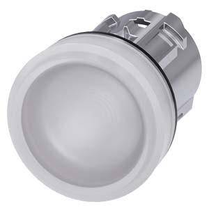 INDICATOR LIGHT, WHITE, SMOOTH LENS