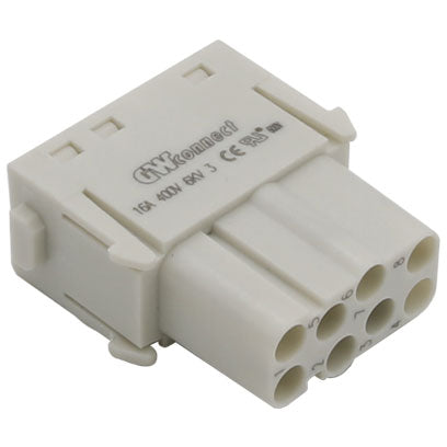 Serie S-M 16/8 Female crimp 8P 16A 400V