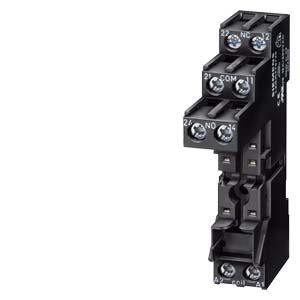 PLUG-IN BASE FOR DIN RAIL MOUNTING