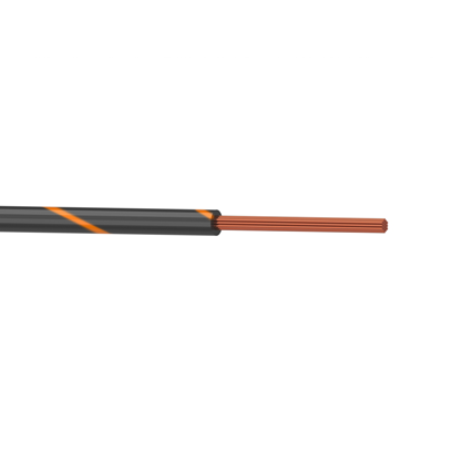 10 AWG MTW Machine Tool Wire Black/Orange