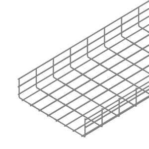 110 x 400mm Wire Mesh Tray 2m