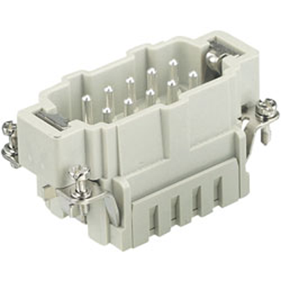 10 pos  Male  Cage Clamp Terminal  Han ES