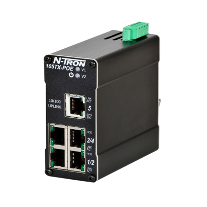 5-PORT, UNMANAGED ENET SWITCH