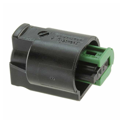2 pos  Connector Housing  Receptacle  MQS Series