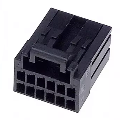 12 pos  Connector Housing  Receptacle  D-2100D