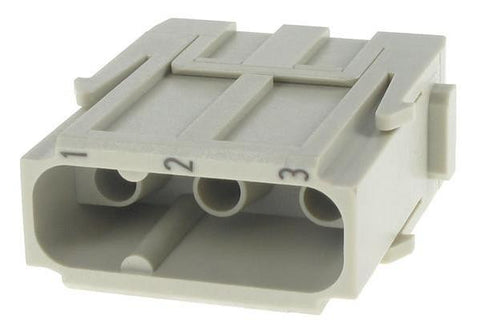 3 POS MALE CRIMP INSERT MODULA