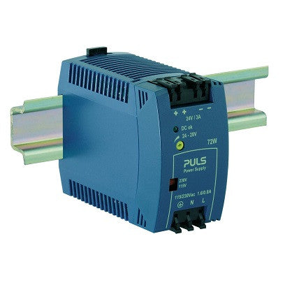 DIN-RAIL POWER SUP. 3.0 AMP