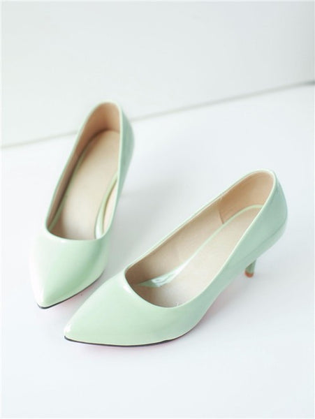 Solid Color Heels