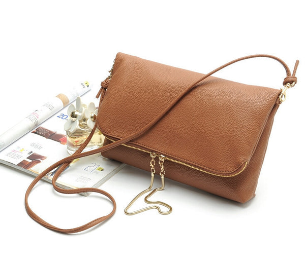 Cross Body PU Clutch Bag