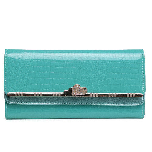 Luxury Patent Leather Clutch