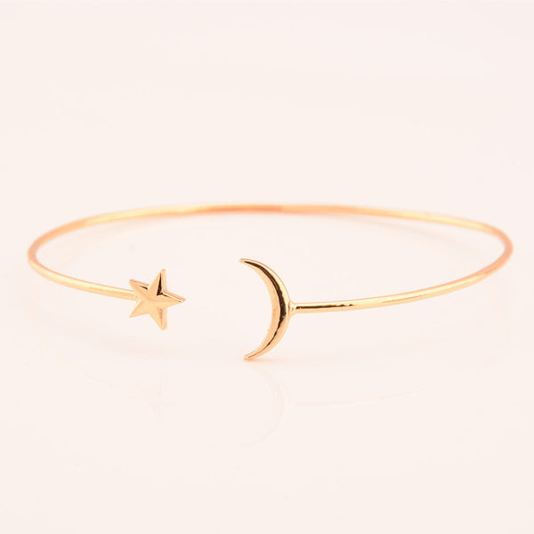 Upper arm Star Moon Bracelet