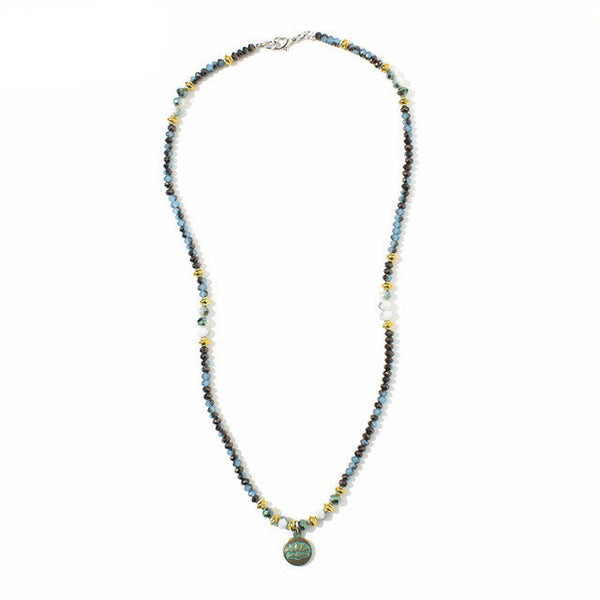 Boho Long Pendent Necklace