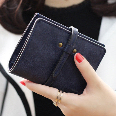 PU Leather Wallet Card Holder