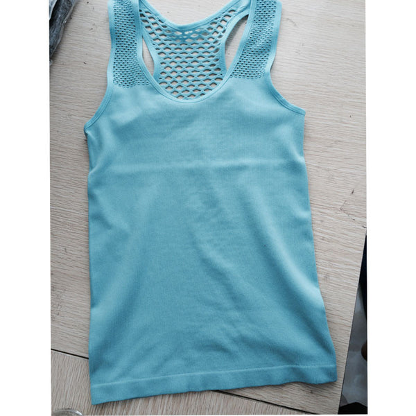 Netted Back Gym Shirt