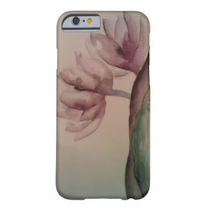 Cell Phone Case, iPhone 6/6s Plus, Willow Flower Design - Blushing Willow Design Co.
