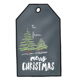 Digital Print Download, Chalk Design Christmas Labels - Blushing Willow Design Co.