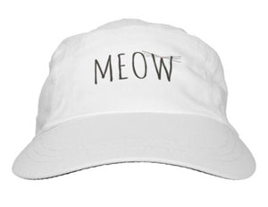 "Hat, Women's, ""Meow"" Design - Blushing Willow Design Co."