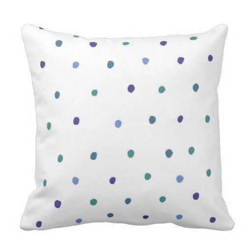 Pillow, Dashing Dots Design - Blushing Willow Design Co.