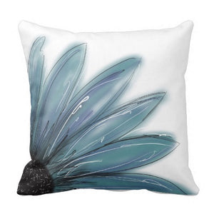 Pillow, Blue Daisy Design - Blushing Willow Design Co.