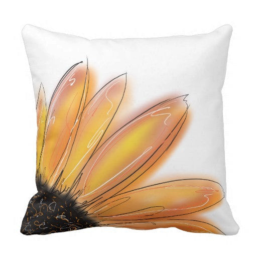Pillow, Sunflower Design - Blushing Willow Design Co.