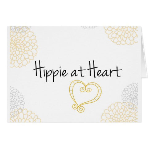 Notecards, Hippie at Heart Design, Blank - Blushing Willow Design Co.