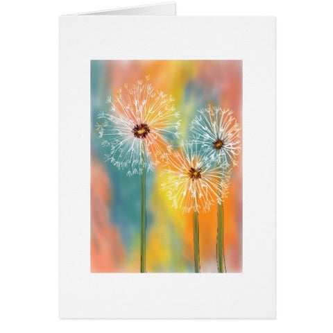 Notecards, Dandelion Design - Blushing Willow Design Co.