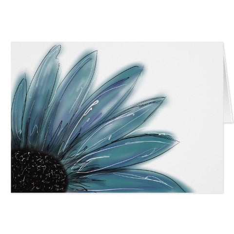 Notecards, Blue Sunflower Design - Blushing Willow Design Co.