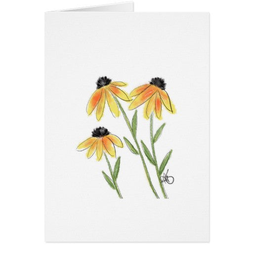 Notecards, Black-Eyed Susan's Design - Blushing Willow Design Co.