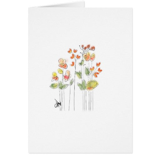 Notecards, Orange Blossoms Design - Blushing Willow Design Co.